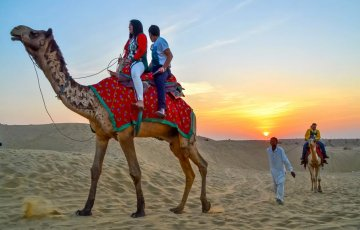 Golden triangle tour with Udaipur & Jaisalmer